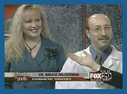 Dr. Wilderman on FOX TV, Doylestown, PADentist